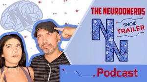 Banner for Neuro Nerds featuring Joe and Lauren